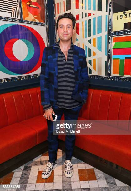 Nick Grimshaw attends the InStyle EE Rising Star Party ahead of the EE BAFTA Awards at The Ivy Soho Brasserie on February 1 2017 in London England
