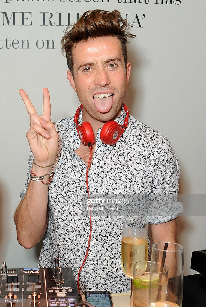 Nick Grimshaw attends the launch of Alexa Chung's first book 'It' at Liberty on September 4, 2013 in London, England.