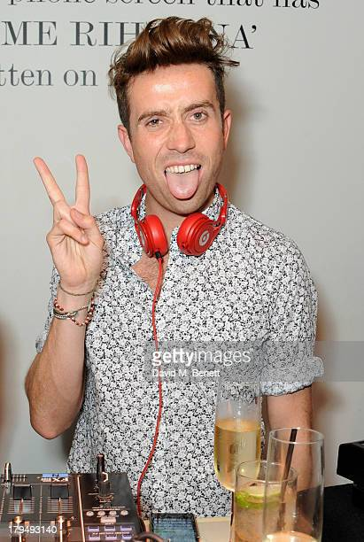 Nick Grimshaw attends the launch of Alexa Chung's first book It at Liberty on September 4 2013 in London England