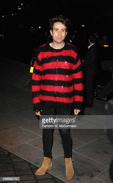 Nick Grimshaw attends the launch of The Mondrian Hotel at Mondrian Hotel on October 9 2014 in London England