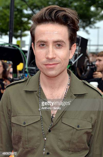 Nick Grimshaw attends the London auditions of The X Factor at SSE Arena on July 16 2015 in London England