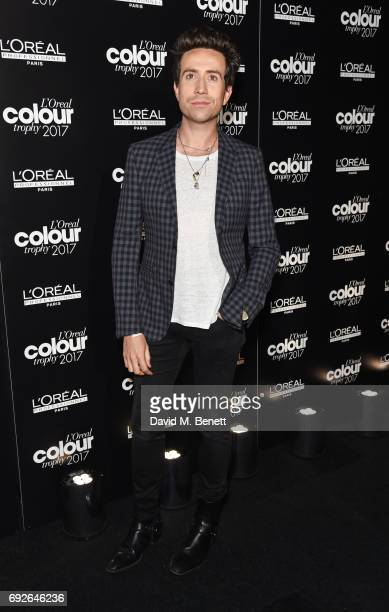 Nick Grimshaw attends the L'Oreal Colour Trophy Grand Final 2017 at Battersea Evolution on June 5 2017 in London England