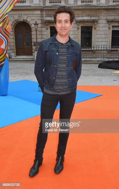 Nick Grimshaw attends the Royal Academy Of Arts Summer Exhibition preview party at Royal Academy of Arts on June 7 2017 in London England