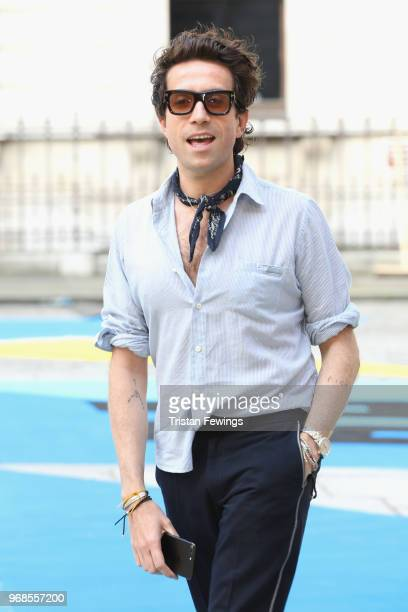 Nick Grimshaw attends the Royal Academy of Arts Summer Exhibition Preview Party at Burlington House on June 6 2018 in London England