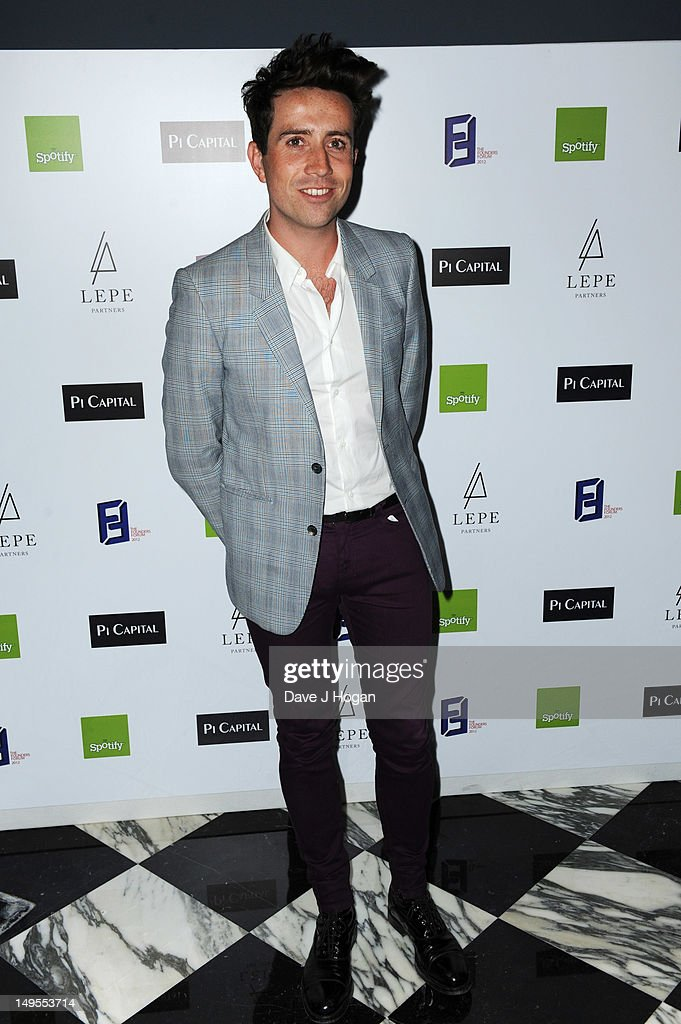 Nick Grimshaw attends the UK Creatives Drinks Reception celebrating media, arts, sport and creativity in the UK at Dover Arts Club on July 30, 2012 in London, England.