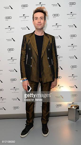 Nick Grimshaw attends the Universal Music BRIT Awards AfterParty 2016 in collaboration with Soho House and BACARDI on February 24 2016 in London...
