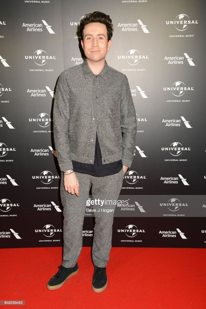 Nick Grimshaw attends the Universal Music pre-BRIT Award party at One Embankment on February 20, 2017 in London, England.