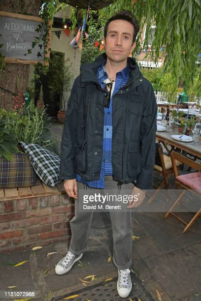 Nick Grimshaw attends the VIP London launch of the Barbour by ALEXACHUNG collection at The Albion on June 20 2019 in London England