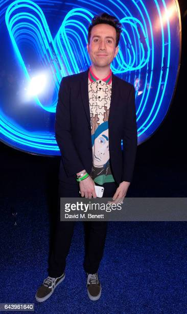 Nick Grimshaw attends The Warner Music Ciroc Brit Awards After Party on February 22 2017 in London England