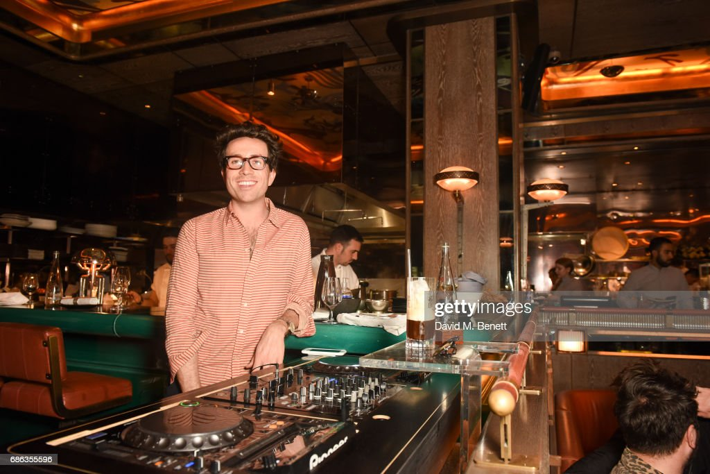 Nick Grimshaw DJ's at his Sexy Brunch at Sexy Fish on May 21, 2017 in London, England.