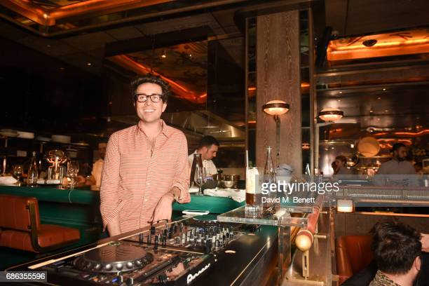 Nick Grimshaw DJ's at his Sexy Brunch at Sexy Fish on May 21 2017 in London England