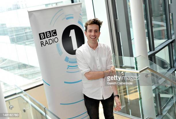 Nick Grimshaw is announced as the new presenter of Radio 1's Breakfast Show from the end of September at BBC Broadcasting House on July 11 2012 in...