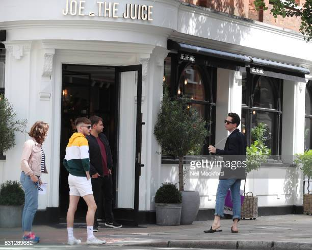 36 London Celebrity Sightings August 14 2017 Pictures