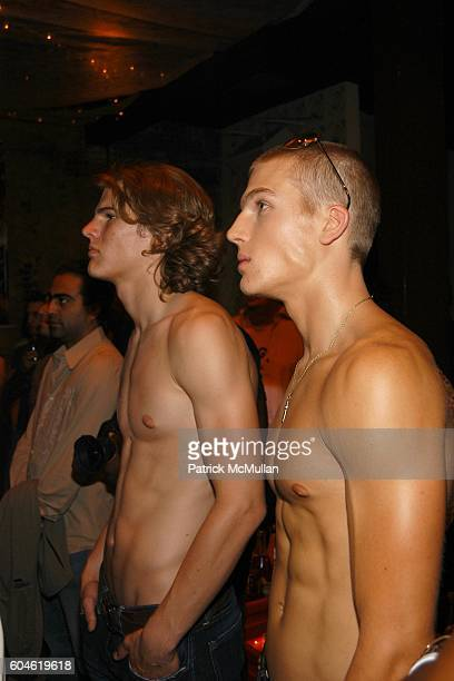 Nick Griswold and Luke Gulbranson attend Benefit for Helena Houdova's SUNFLOWER ORGANIZATION Children of India at PM on June 22 2006 in New York City