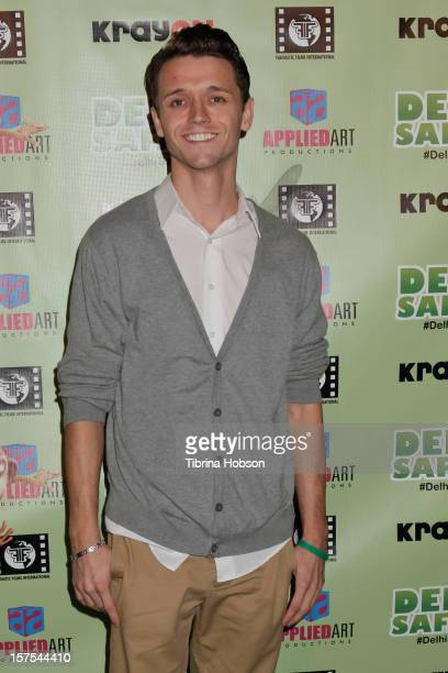 Nick Grosvenor attends the Delhi Safari Los Angeles premiere at Pacific Theatre at The Grove on December 3 2012 in Los Angeles California