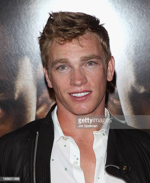 Nick Gruber attends the 'After Earth' premiere at the Ziegfeld Theater on May 29 2013 in New York City
