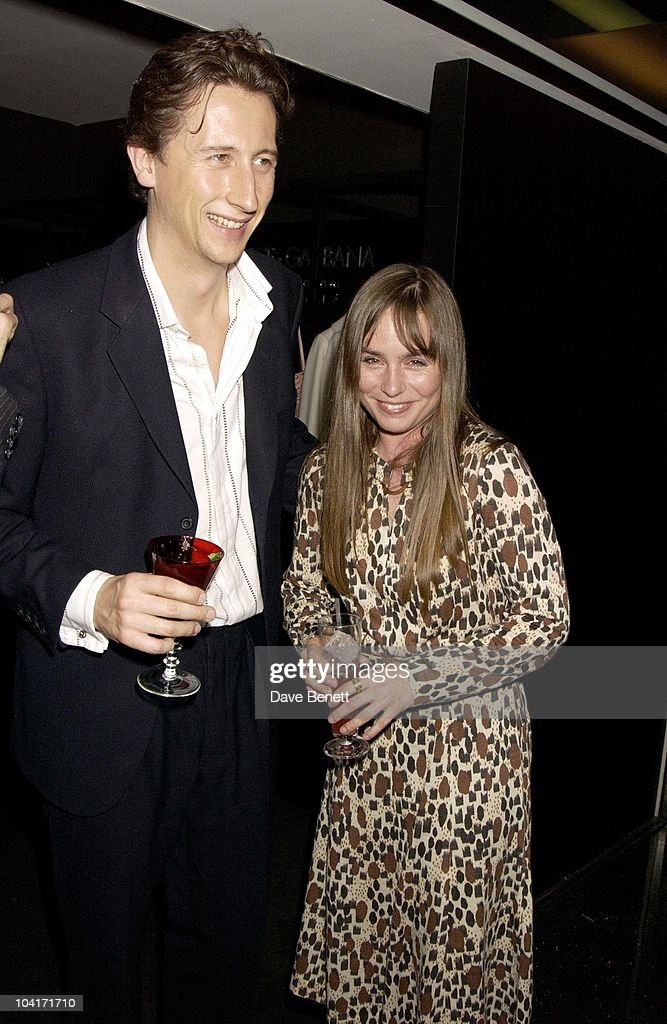 Nick Hague And Tara Fitzgerald, Super Brands Party At The Momo Restaurant In Selfridges, Where The Best Designers Outlets Were Set On One Floor