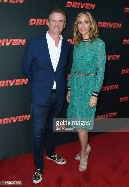 Nick Hamm and Kim Raver attend Universal Pictures Home Entertainment Content Group's Los Angeles Premiere Of Driven at ArcLight Hollywood on July 29...