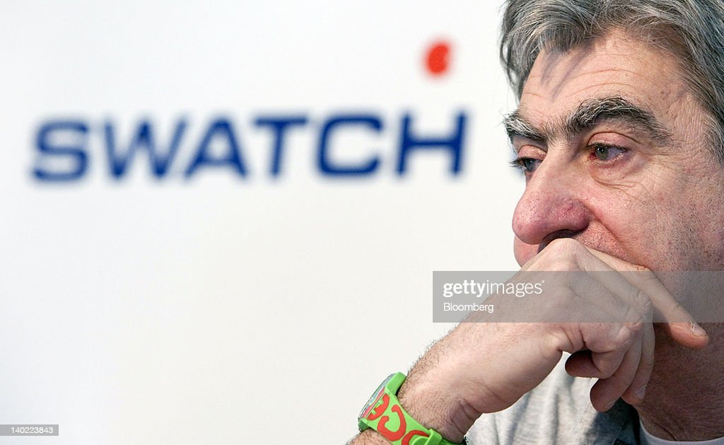 Swatch Group AG Results News Conference : News Photo