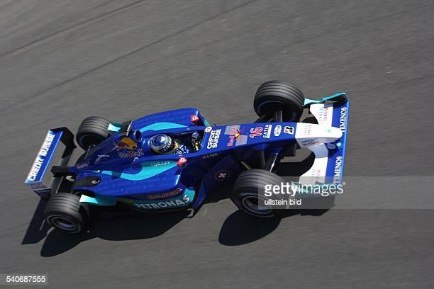 Nick Heidfeld *- Sportler, Automobilsport Formel 1, D im Sauber-Petronas, Autorennen Großer Preis von Italien in Monza .