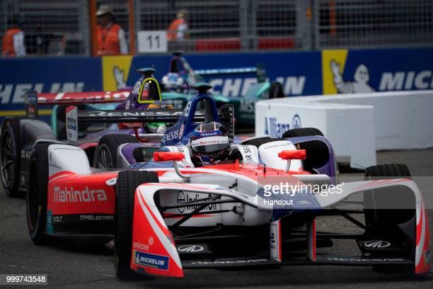 Nick Heidfeld , Mahindra Racing, Mahindra M4Electro. On July 14, 2018 in New York, United States.