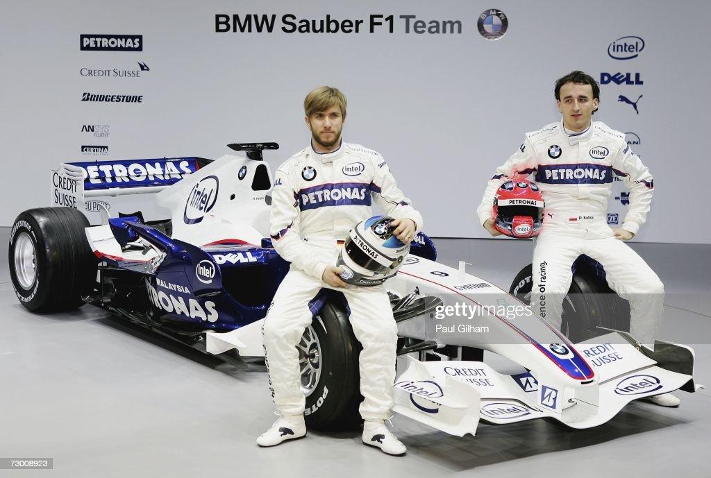 BMW Sauber F1.07 2007 Challenger Launch : News Photo
