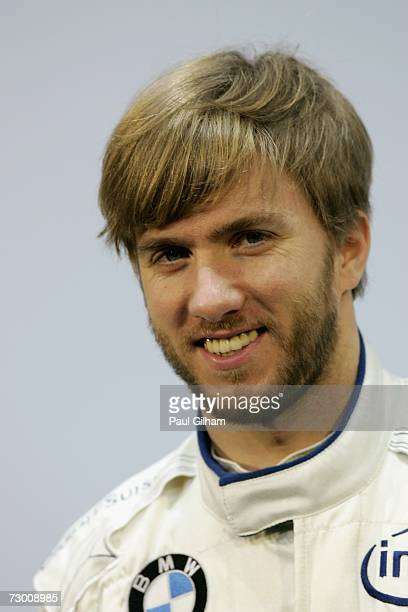 Nick Heidfeld of Germany and BMW Sauber looks on during the launch of the BMW Sauber F1.07 2007 Challenger at Feria de Valencia on January 16, 2007...