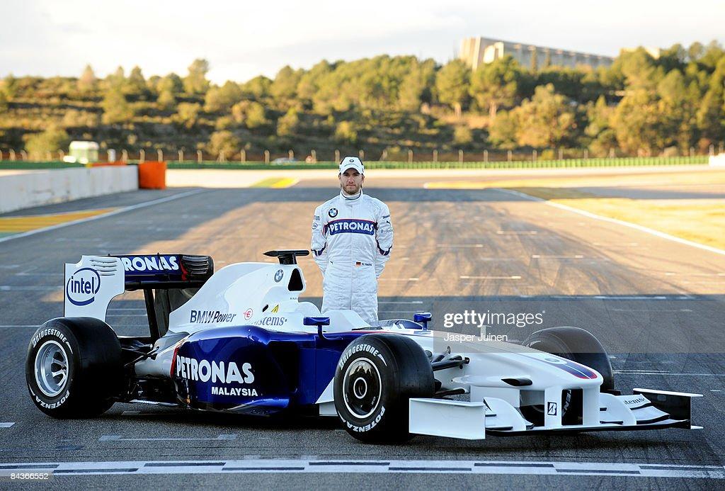 BMW 2009 F1 Launch : News Photo