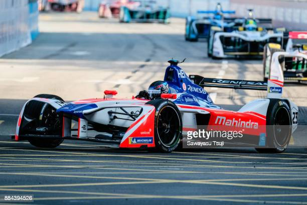 Nick Heidfeld of Germany and Mahindra Racing competes during the FIA Formula E Hong Kong 2017 E-Prix Round 1 at the Central Harbourfront Circuit on...