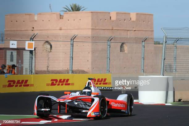 Nick Heidfeld of Germany during the Formula-E Championship 2016 on November 12, 2016 in Marrakesh, Morocco.