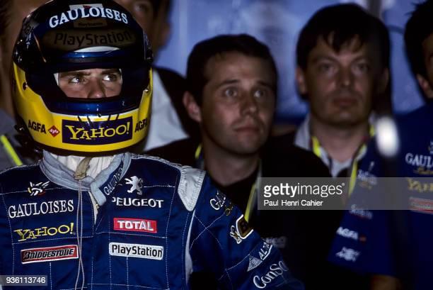 Nick Heidfeld, Prost-Peugeot AP03, Grand Prix of Belgium, Circuit de Spa-Francorchamps, 27 August 2000.