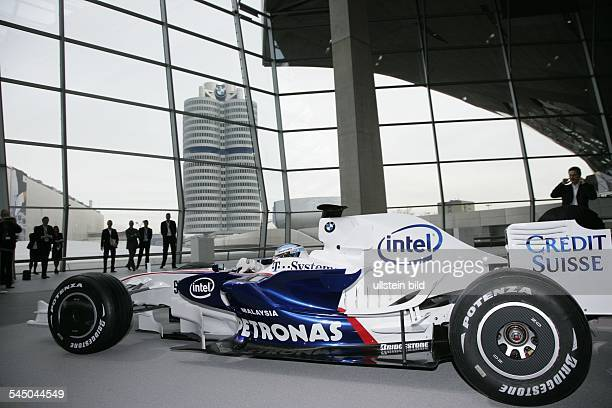 Nick Heidfeld - Sportsman, Racing Driver, BMW Sauber, Germany - during official presentation of new team for season 2008 with new car F1.08. At...