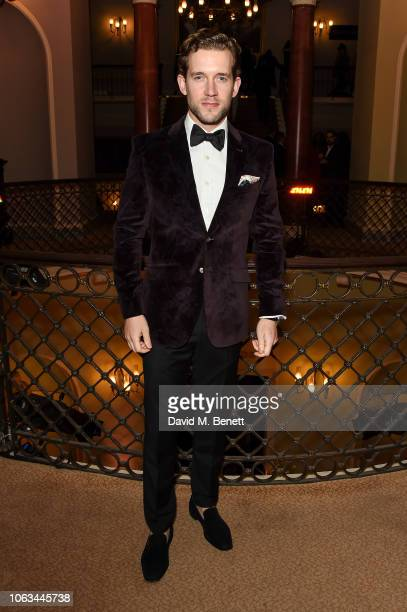 Nick Hendrix attends The 64th Evening Standard Theatre Awards at the Theatre Royal Drury Lane on November 18 2018 in London England