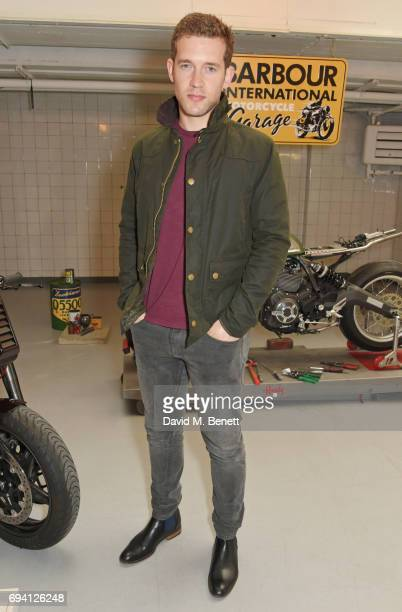 Nick Hendrix attends the Barbour International presentation during the London Fashion Week Men's June 2017 collections on June 9 2017 in London...