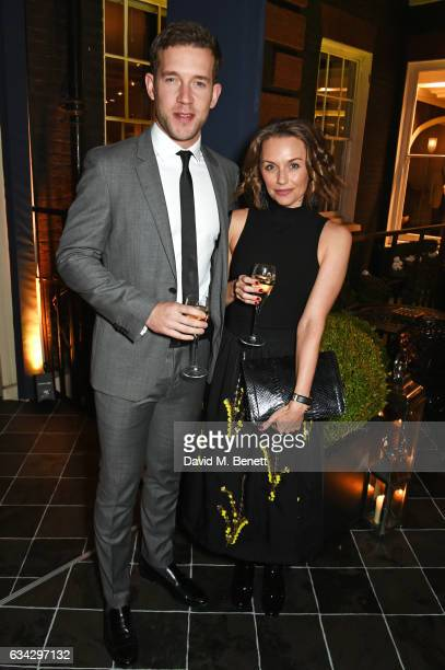 Nick Hendrix attends the dunhill and Dylan Jones preBAFTA dinner and cocktail reception celebrating Gentlemen in Film at Bourdon House on February 8...