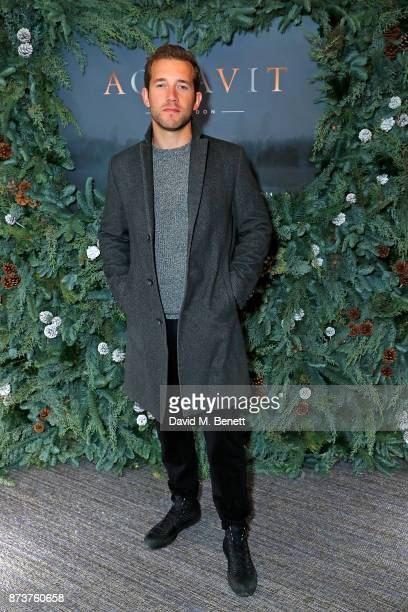 Nick Hendrix attends the launch of The Nordic Winter Garden at Aquavit by McQueens on November 13 2017 in London England