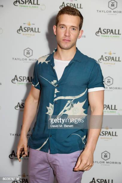 Nick Hendrix attends the Taylor Morris Eyewear x Aspall Tennis Classic Player's Party at Bluebird Chelsea on June 28 2017 in London England