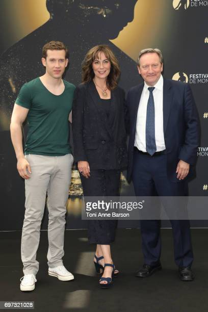 Nick Hendrix Fiona Dolman Neil Dudgeon attends Midsomer Murders Photocall as part of the 57th Monte Carlo TV Festival at the Grimaldi Forum on June...