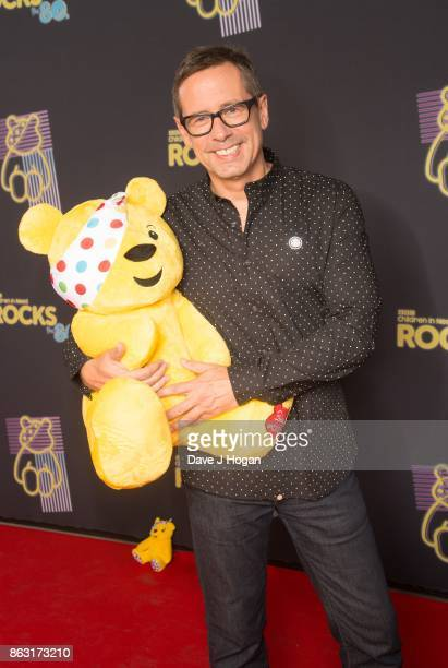 Nick Herywood is pictured at BBC Children in Need Rocks the 80s at SSE Arena on October 19, 2017 in London, England.