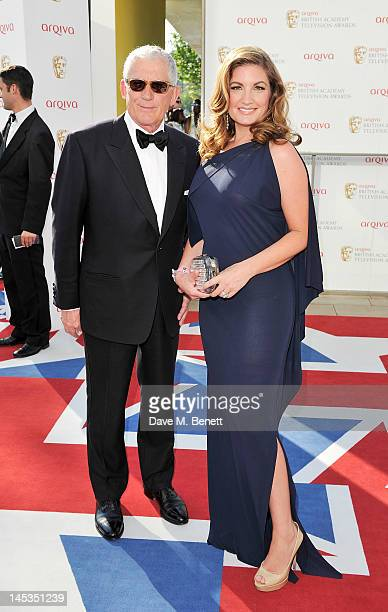 Nick Hewer and Karren Brady arrive at the Arqiva British Academy Television Awards 2012 at Royal Festival Hall on May 27 2012 in London England