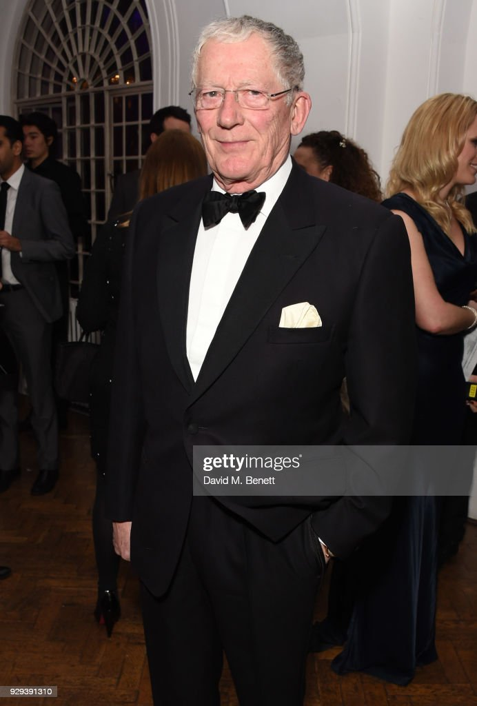Nick Hewer attends the Hope and Homes for Children 'Once Upon A Time Ball' at One Marylebone on March 8, 2018 in London, England.