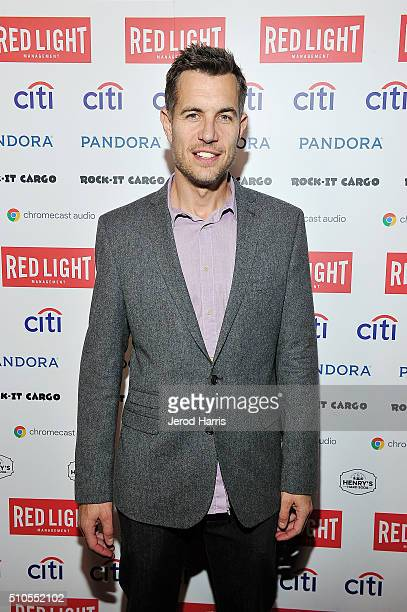 Nick Hexum of 311 attends the Red Light Management Grammy after party presented by Citi at the Mondrian Hotel on February 15 2016 in Los Angeles...