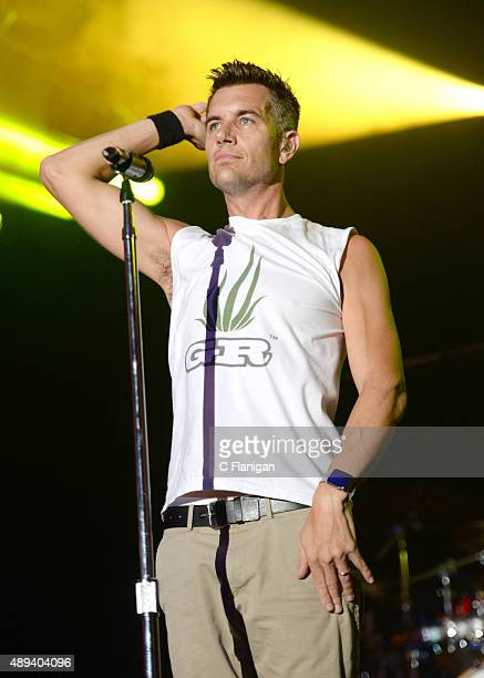 Nick Hexum of 311 performs onstage during 2015 KAABOO Del Mar at the Del Mar Fairgrounds on September 20, 2015 in Del Mar, California.
