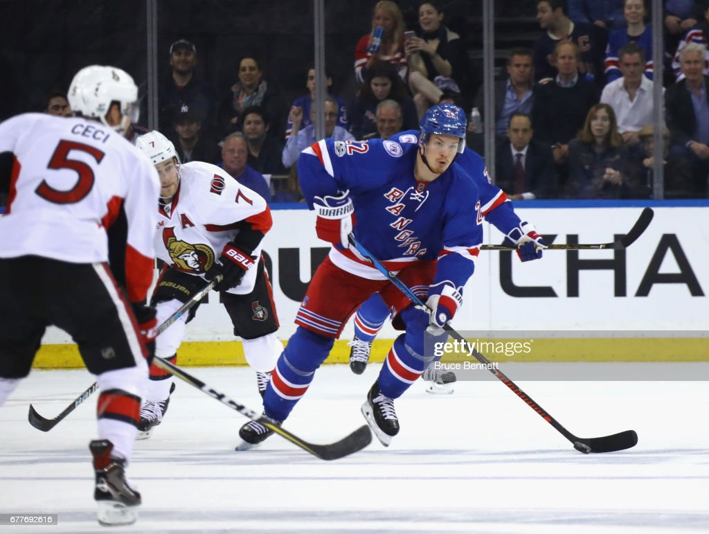 Nick holden photos pictures of nick holden getty images nick holden 22 of the new york rangers skates against the ottawa senators in game publicscrutiny Image collections