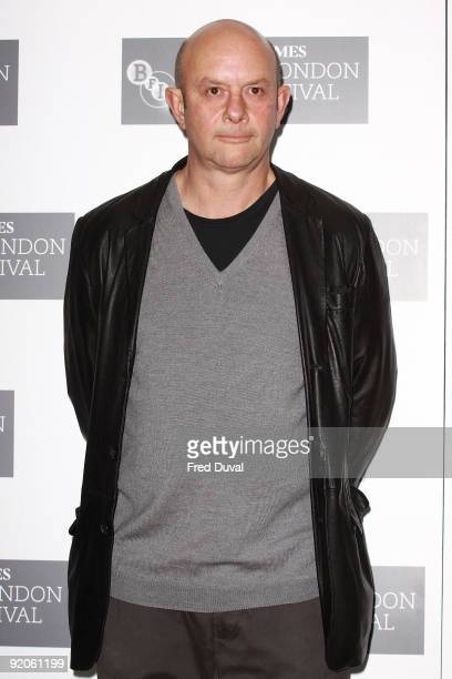 Nick Hornby attends a photocall for 'An Education' during The Times BFI London Film Festival at May Fair Hotel on October 20 2009 in London England