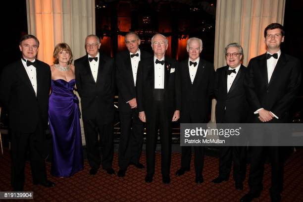 Nick Howard Isabel Carden Peter Hopkinson Rodney Johnson Bill Miller John Harvey Joe Smith and Luke Parker Bowles attend The BRITISH GARDEN Gala...