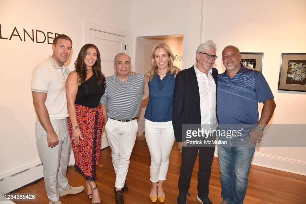 """Nick Ife, Francesca Ife, Peter Marcelle, Catherine McCormick, Dan Rizzie and Tony Guma attend the release of Christophe von Hohenberg's new book """"The..."""