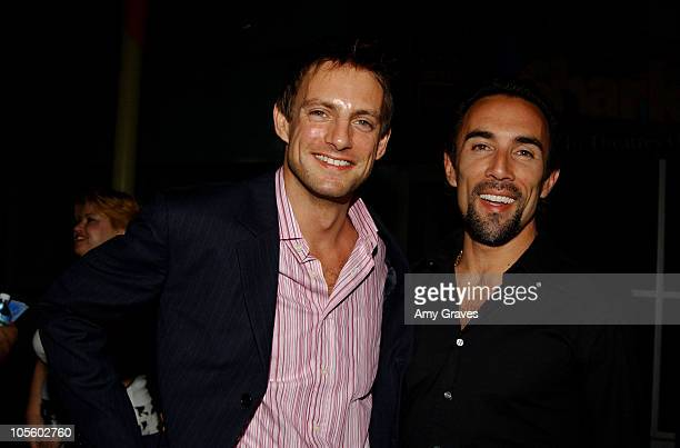 Nick Irons and Francesco Quinn during 'VLAD' Los Angeles Premiere Red Carpet at ArcLight Theater Hollywood in Hollywood California United States
