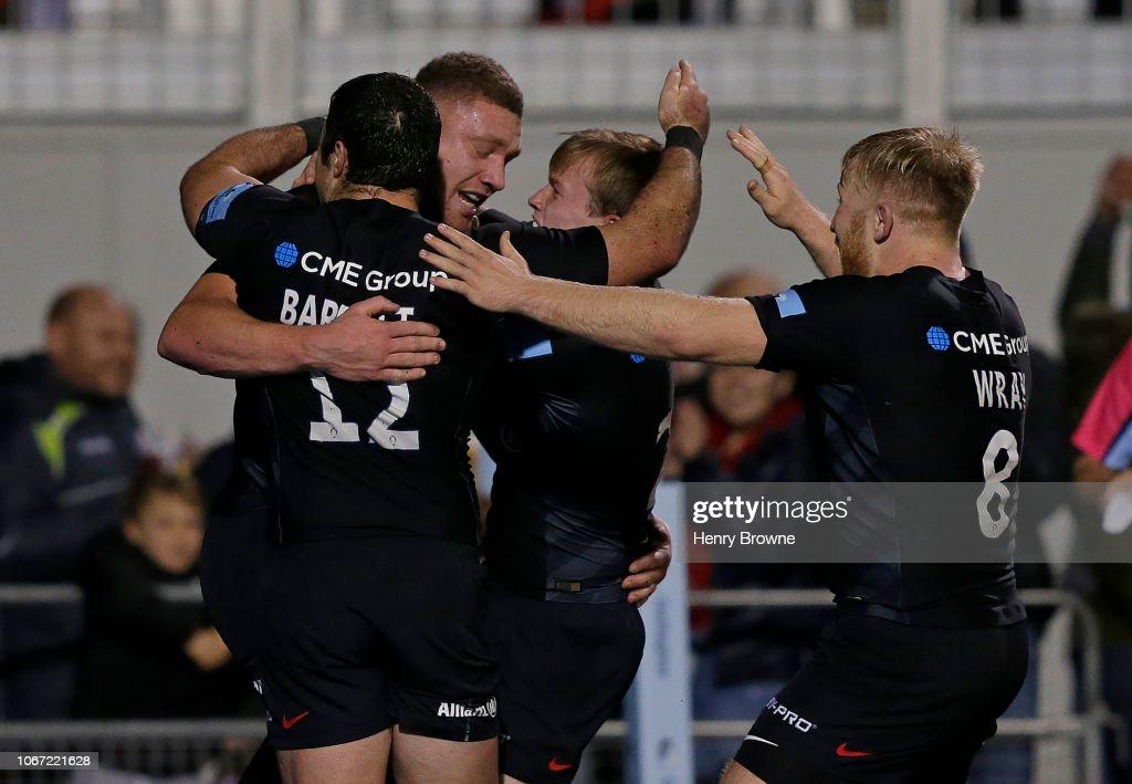 Saracens v Wasps - Gallagher Premiership Rugby : News Photo