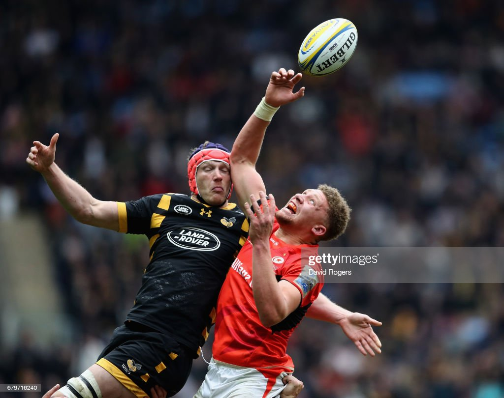 Wasps v Saracens - Aviva Premiership : News Photo